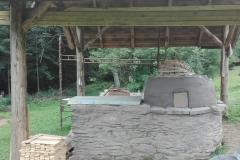 kupole v půlce